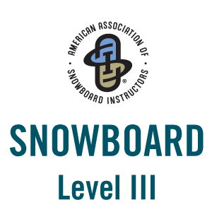 Snowboard Level III Professional Knowledge Exam Pass Icon